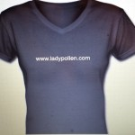 Lady Pollen.com T-shirt